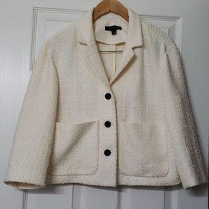 Ivory Ann Taylor crop jacket